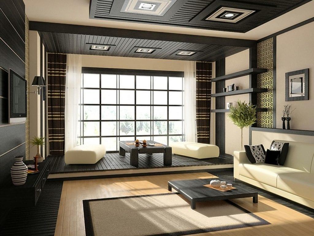 Оформление гостиной в этническом стиле