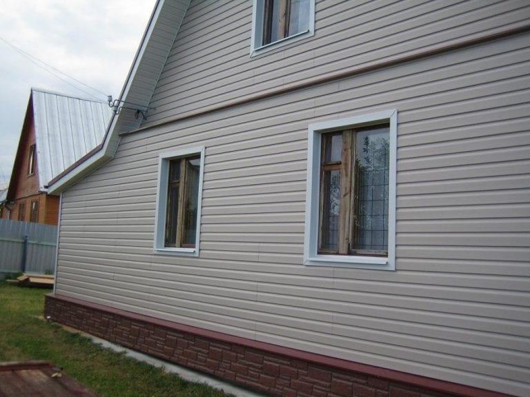 картинки домов с сайдингом цвет пустырник