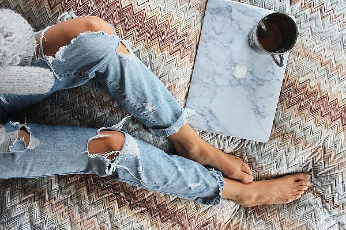 Как своими руками порезать джинсы
