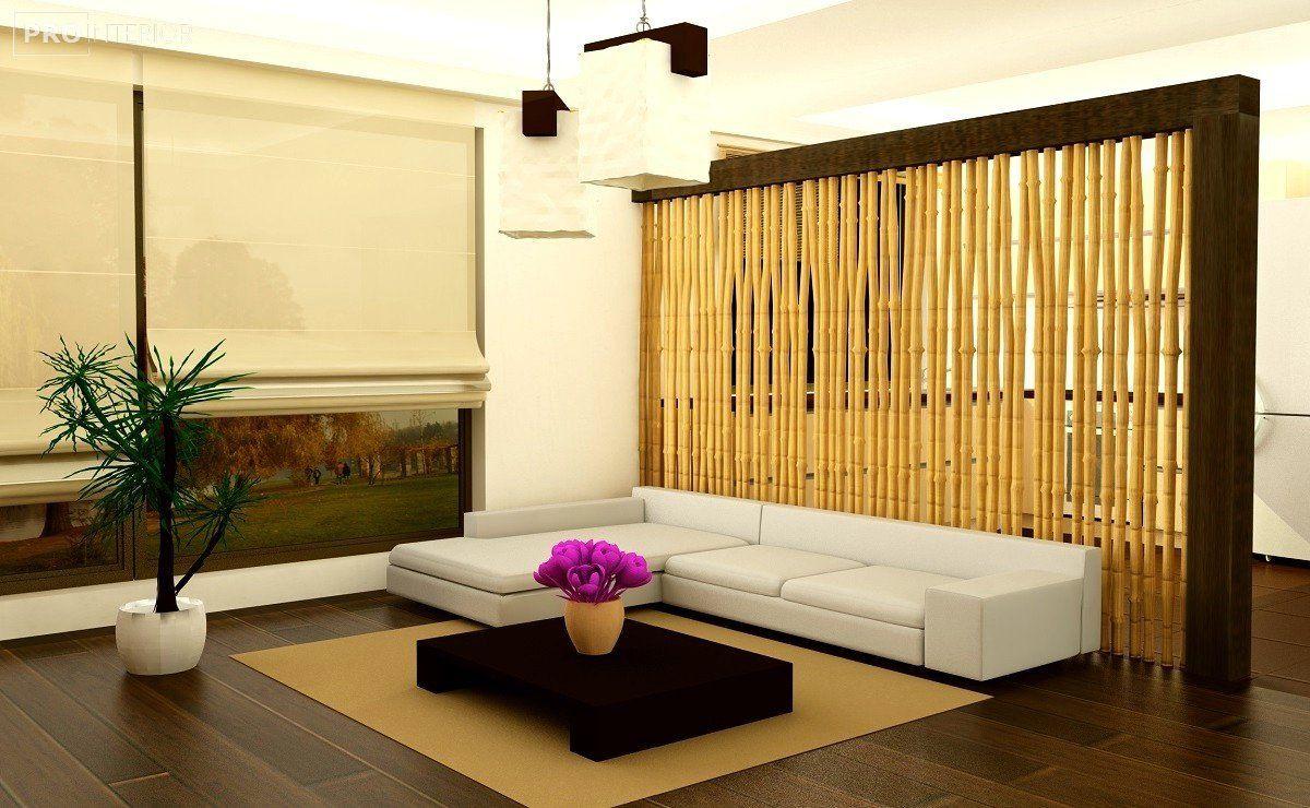Способы украшения интерьера бамбуком_6