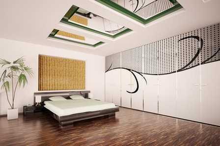 Способы украшения интерьера бамбуком_5