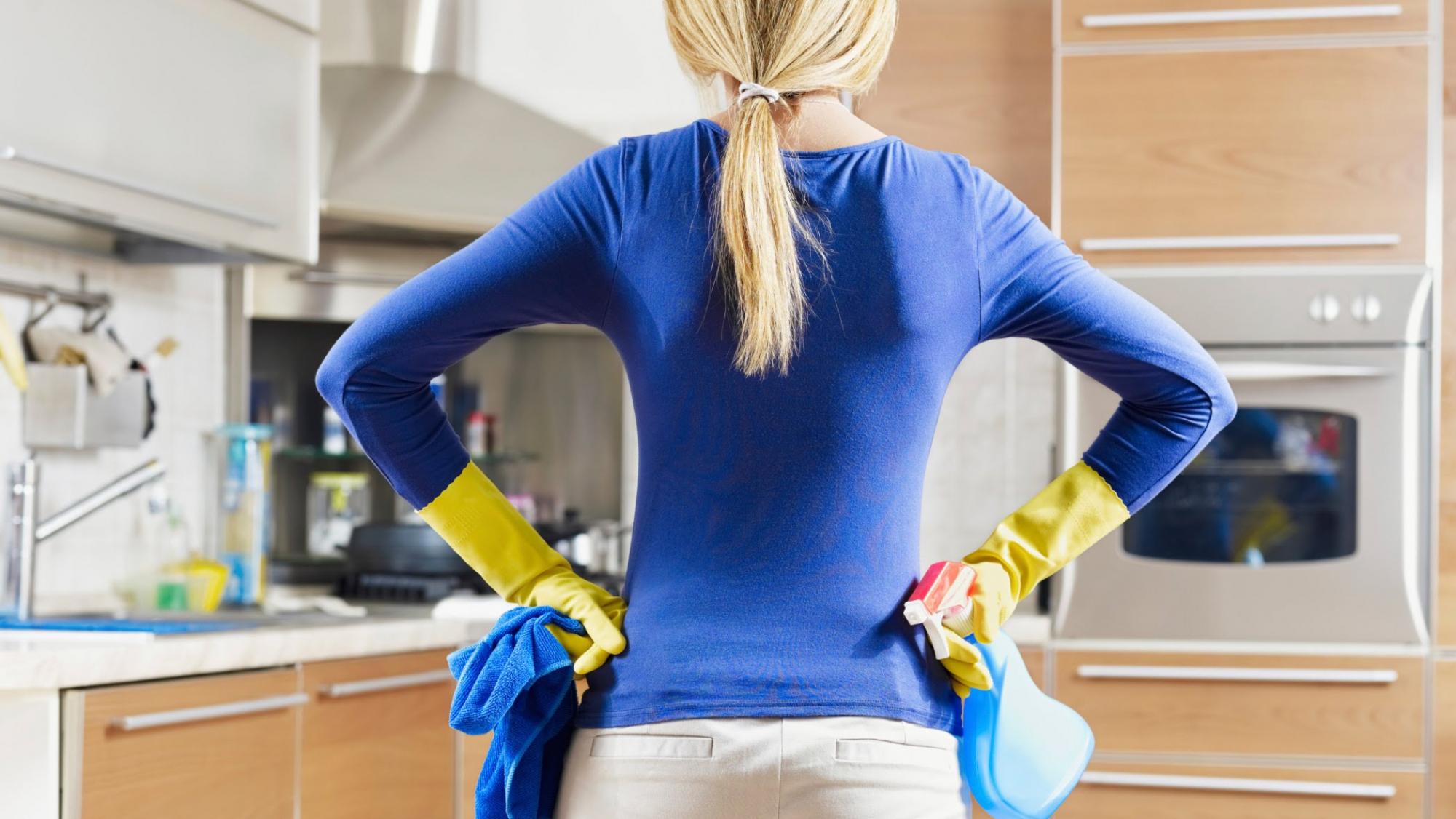Лучшие способы отмыть кухонный фартук_1