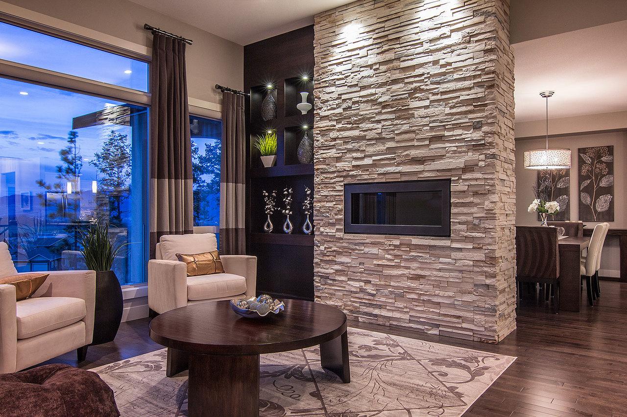 Применение декоративного кирпича в интерьере квартиры_3