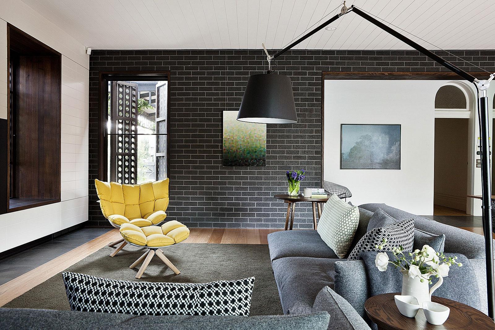 Применение декоративного кирпича в интерьере квартиры_5