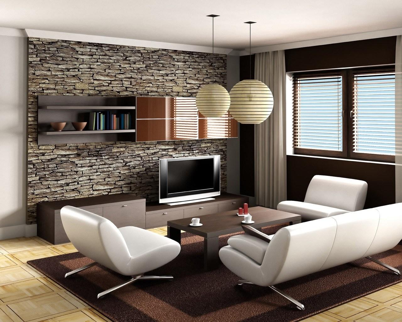 Применение декоративного кирпича в интерьере квартиры_6