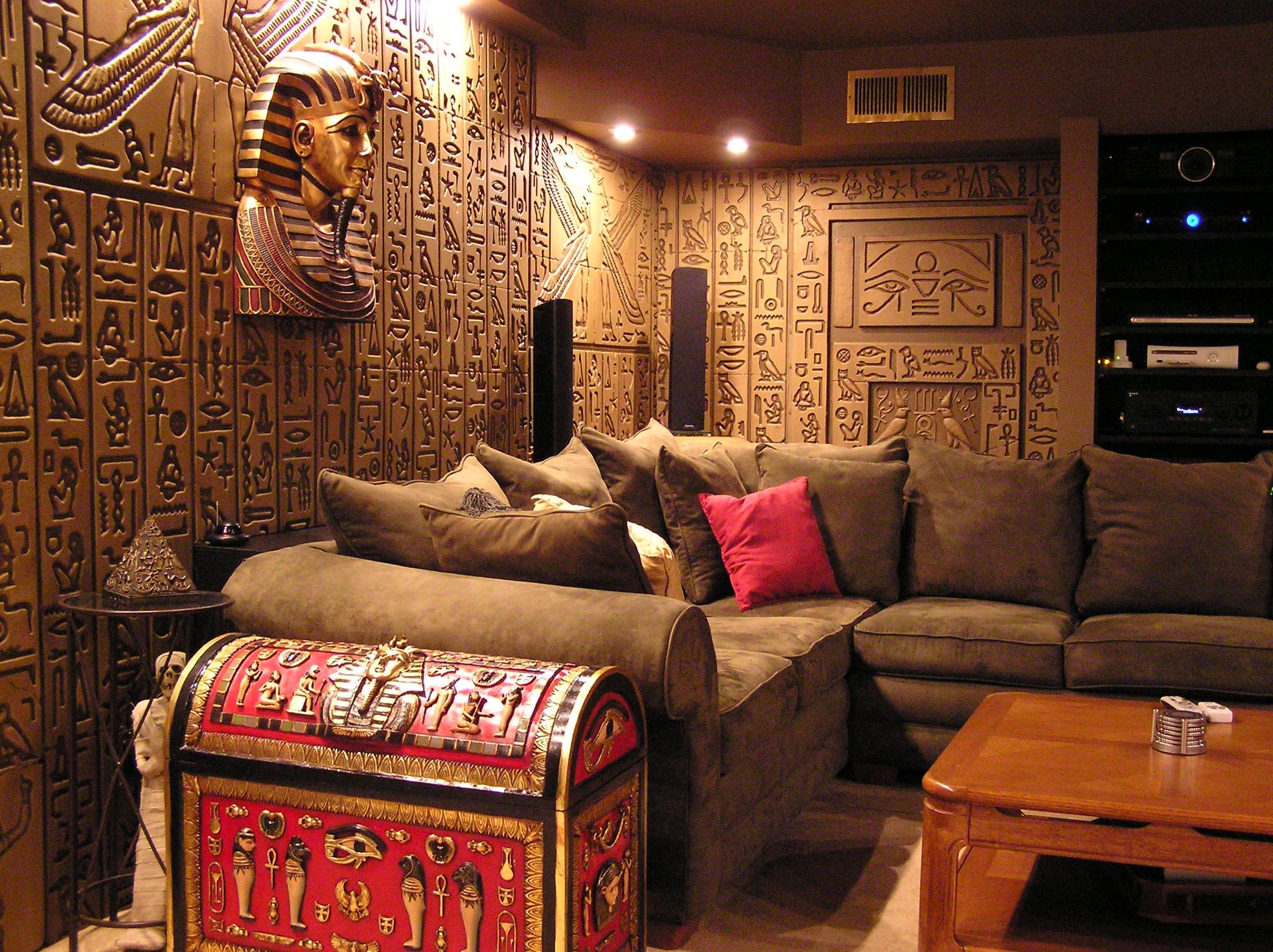 Египетский стиль: тайны древних цивилизаций в вашем доме
