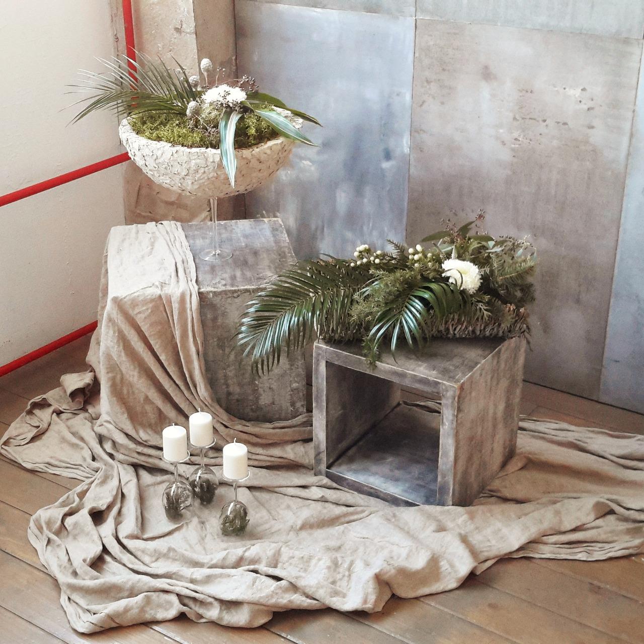 Красивые идеи флористов для декора интерьера квартиры_5
