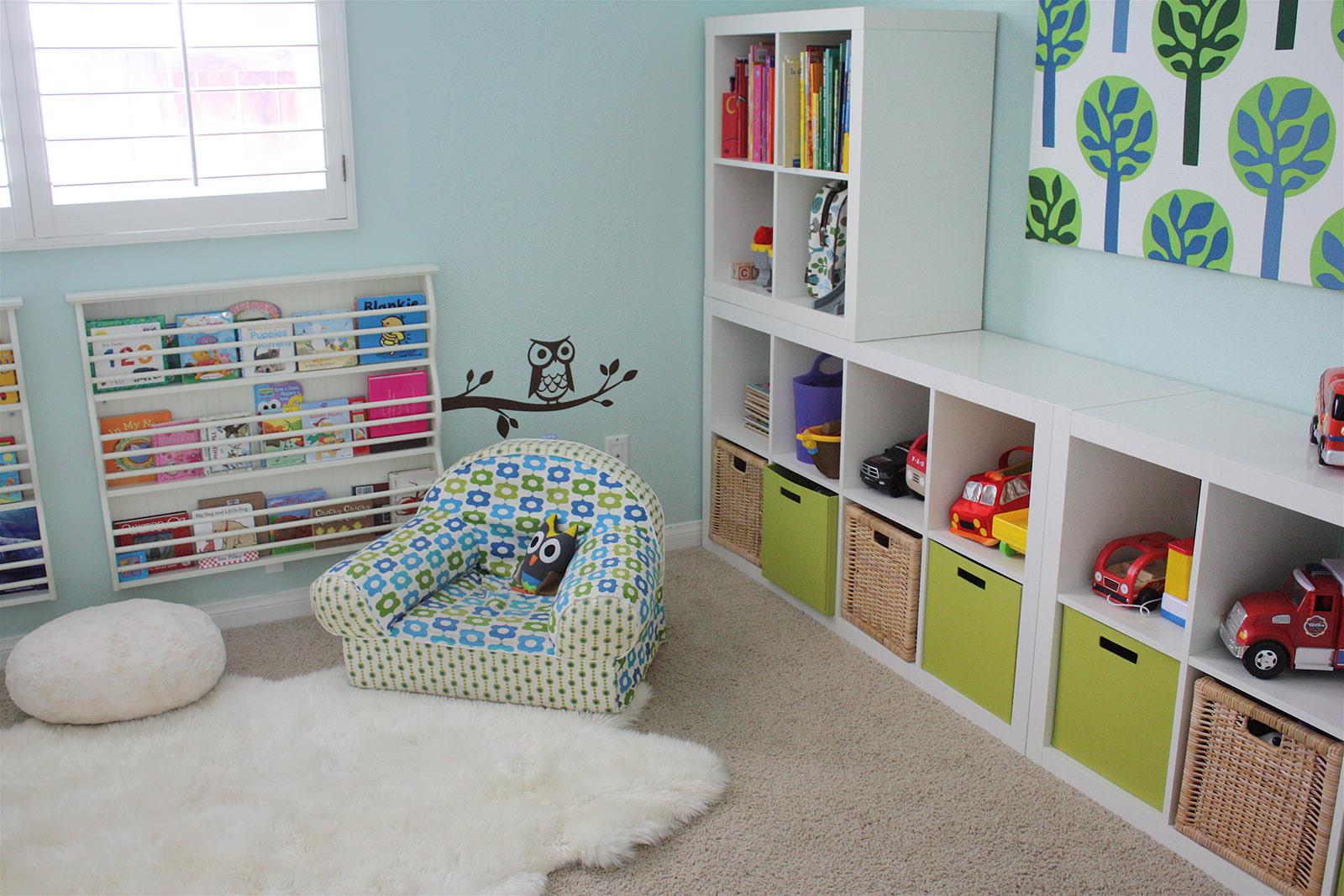 Куда складывать детские игрушки_1