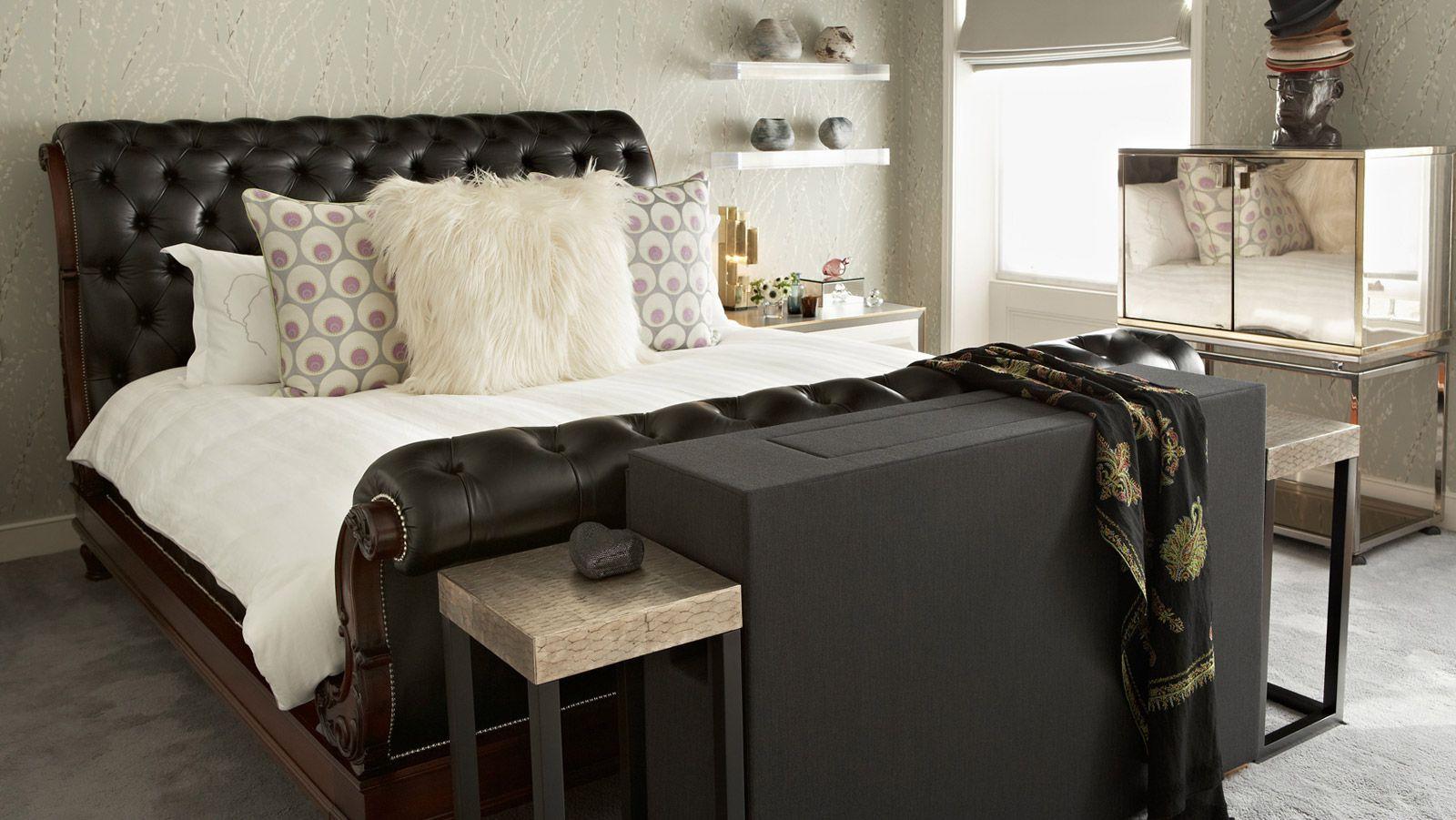 Когда уместна мебель с кожаной обивкой_3