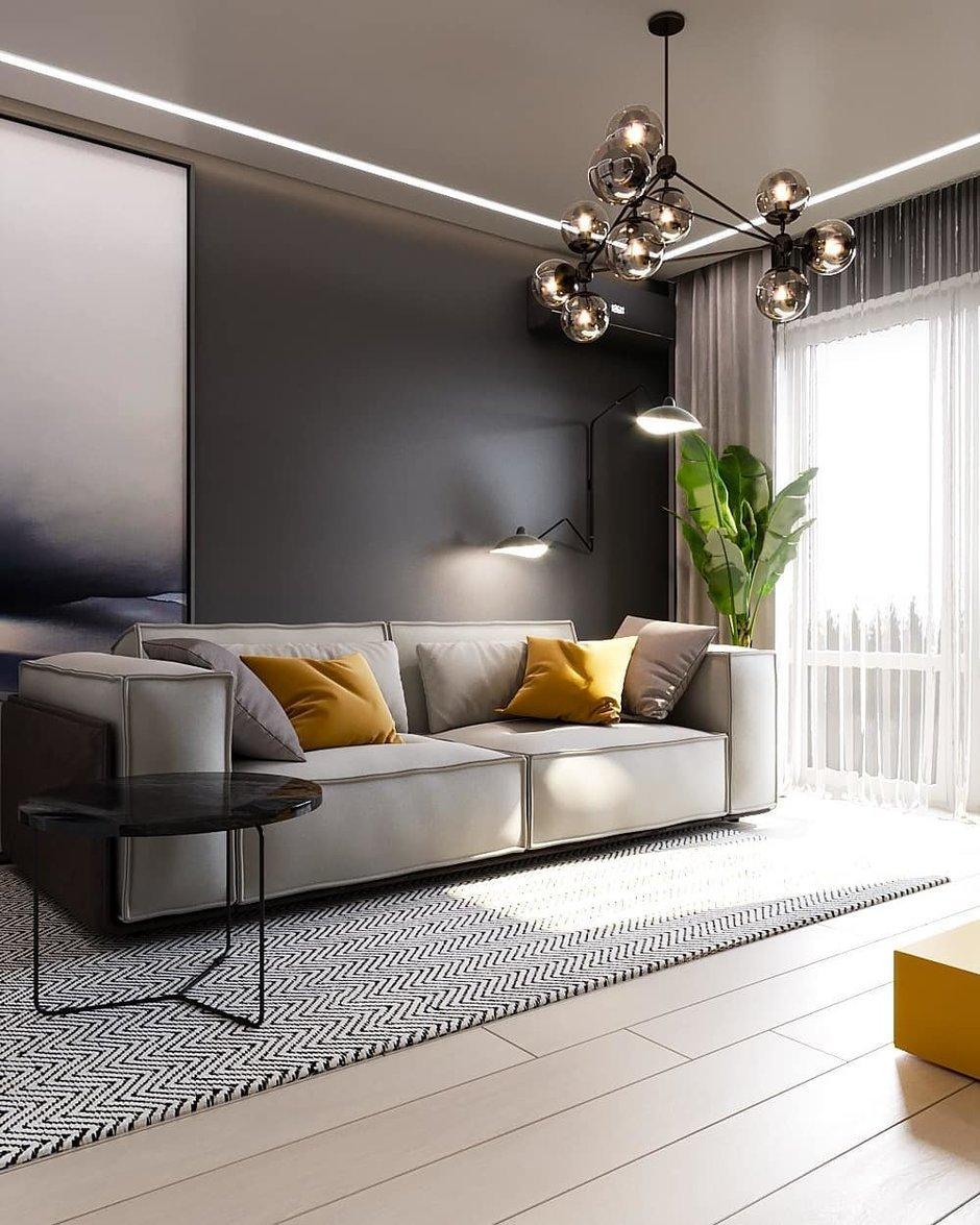 Какие предметы украсят гостиную_5