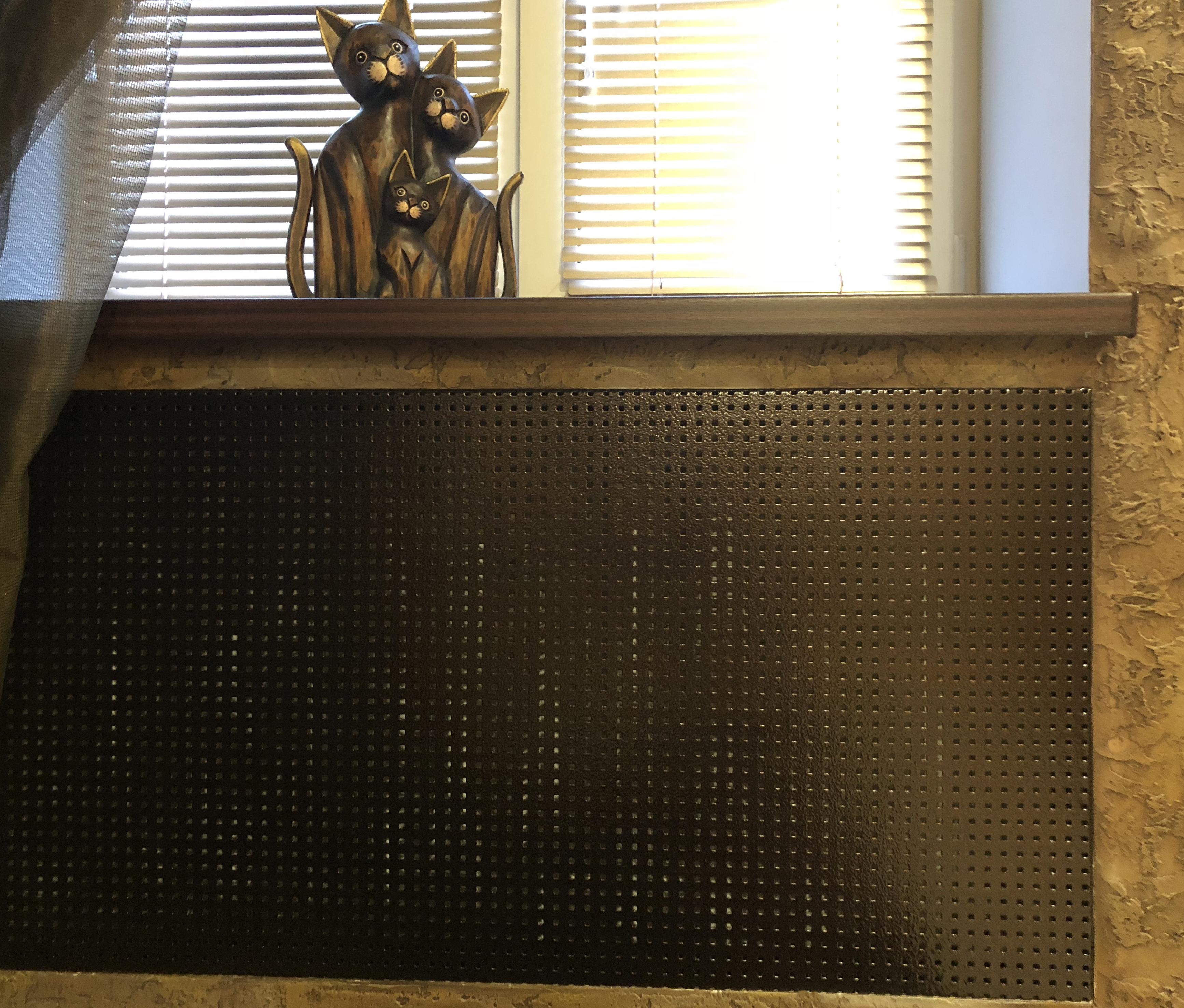 Как выбрать красивый экран для радиаторов отопления