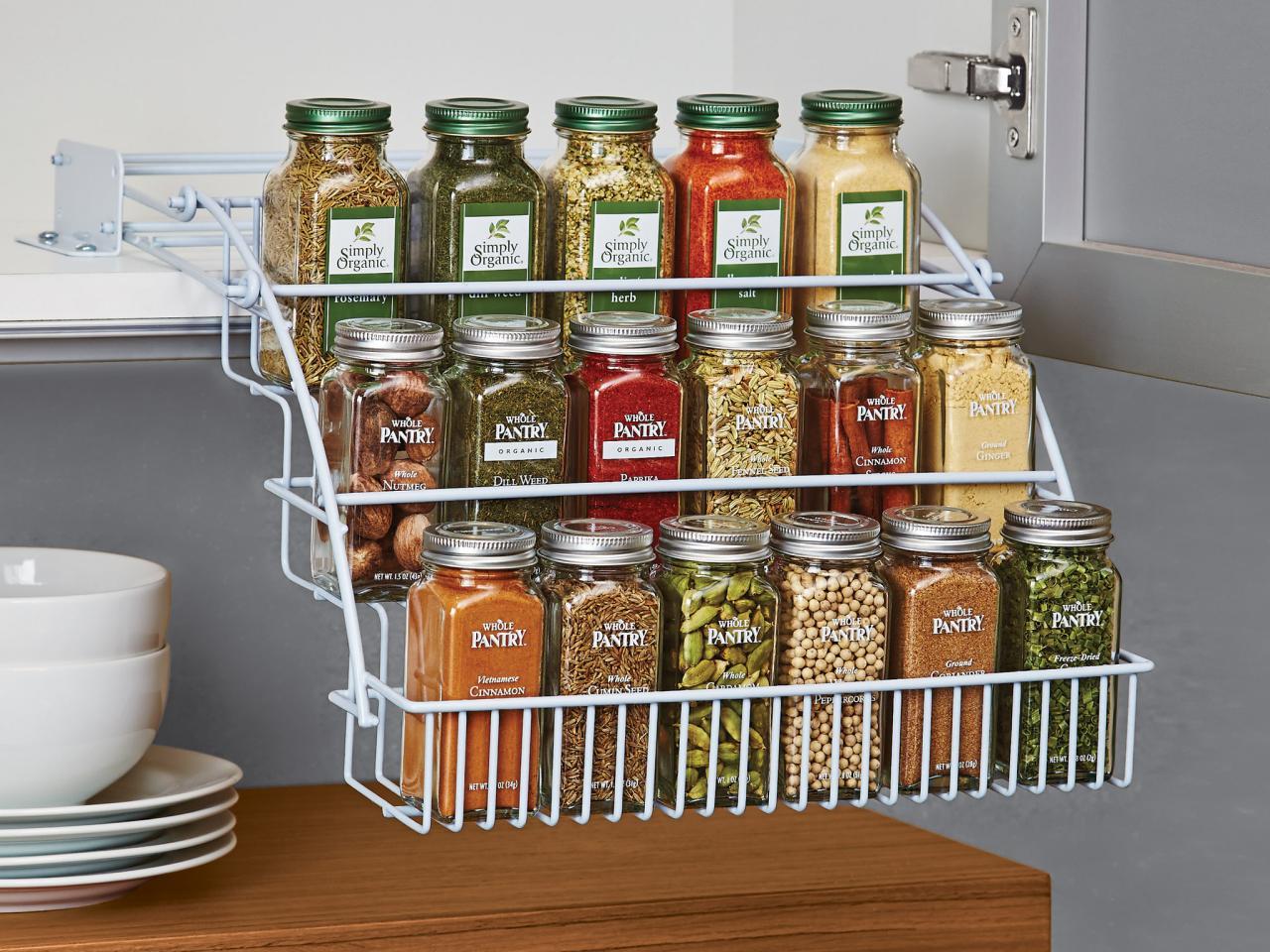 Лучшие идеи для хранения специй на кухне_1