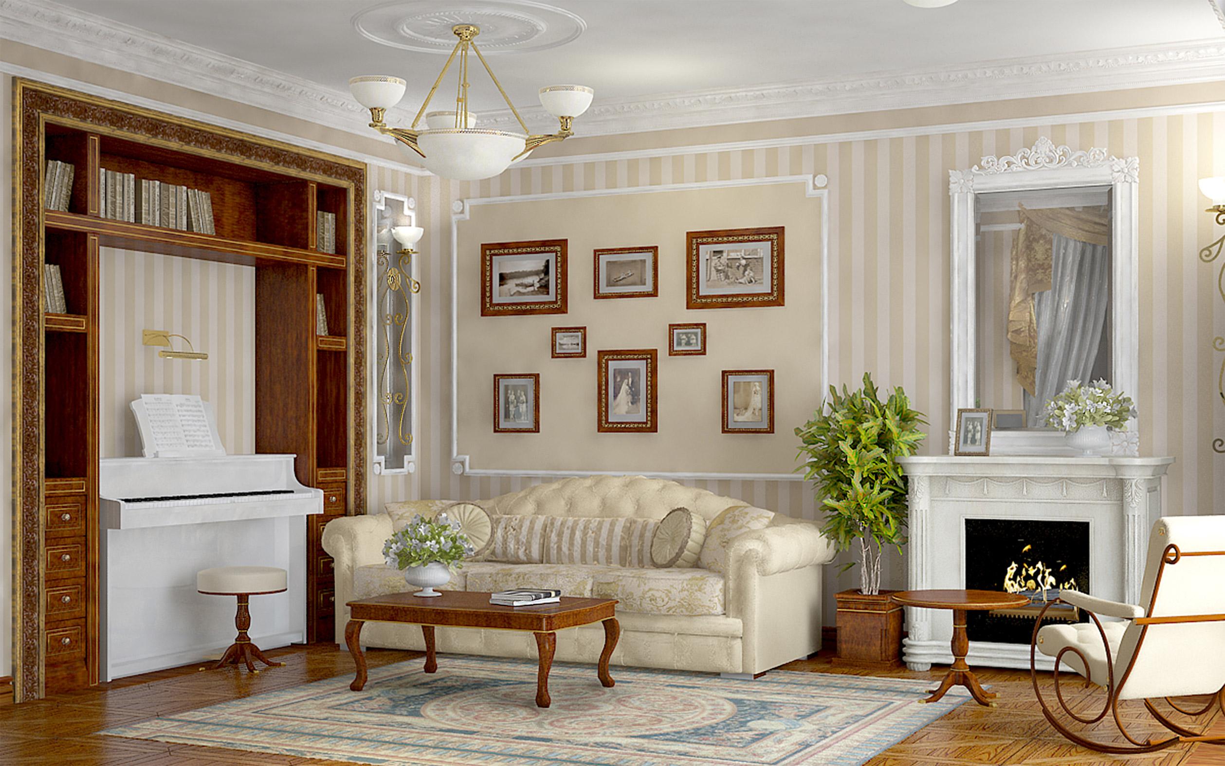 Мебель для интерьера в классическом стиле_2