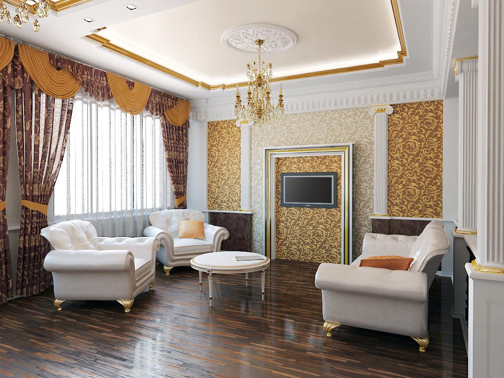 Мебель для интерьера в классическом стиле_3