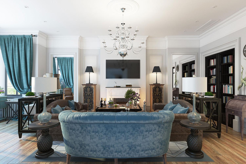Мебель для интерьера в классическом стиле_4