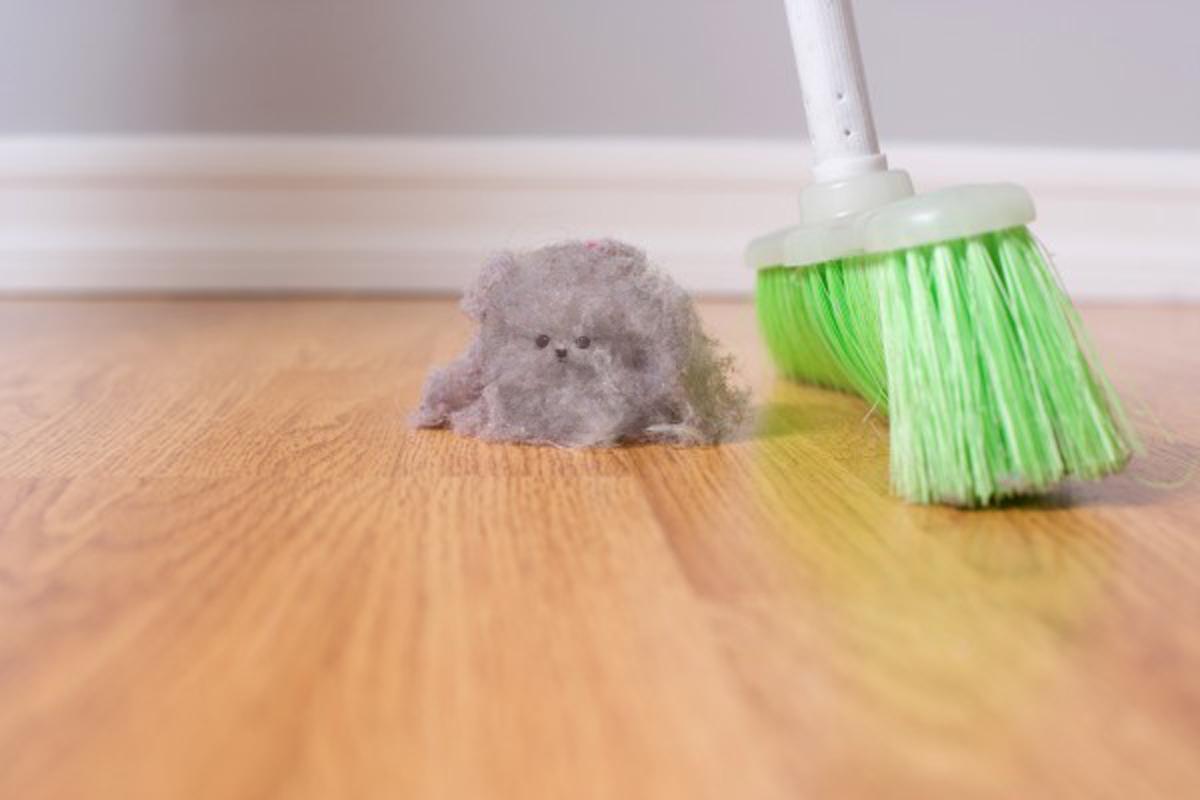 Уборка пыли в доме