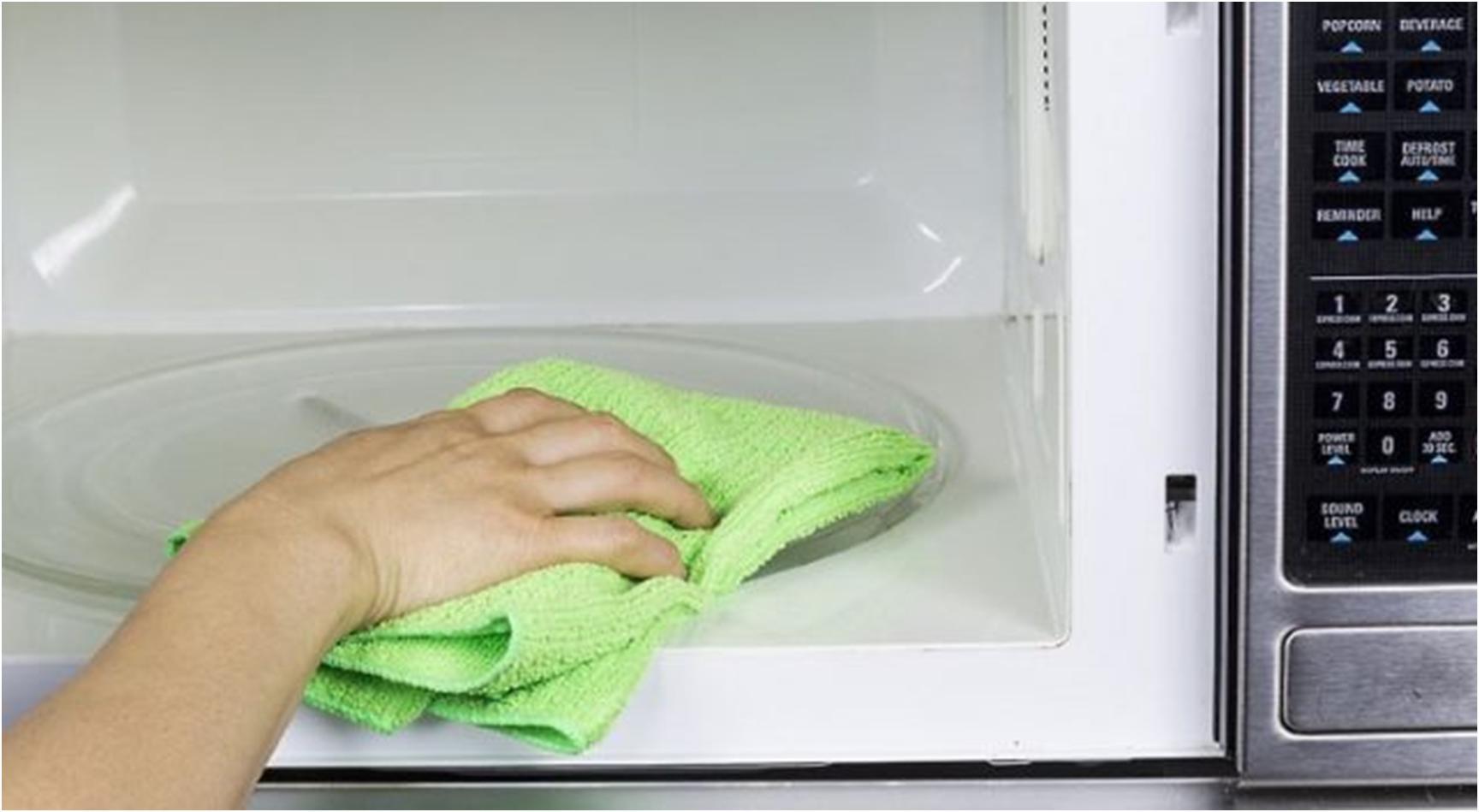 Как отмыть микроволновую печь_5