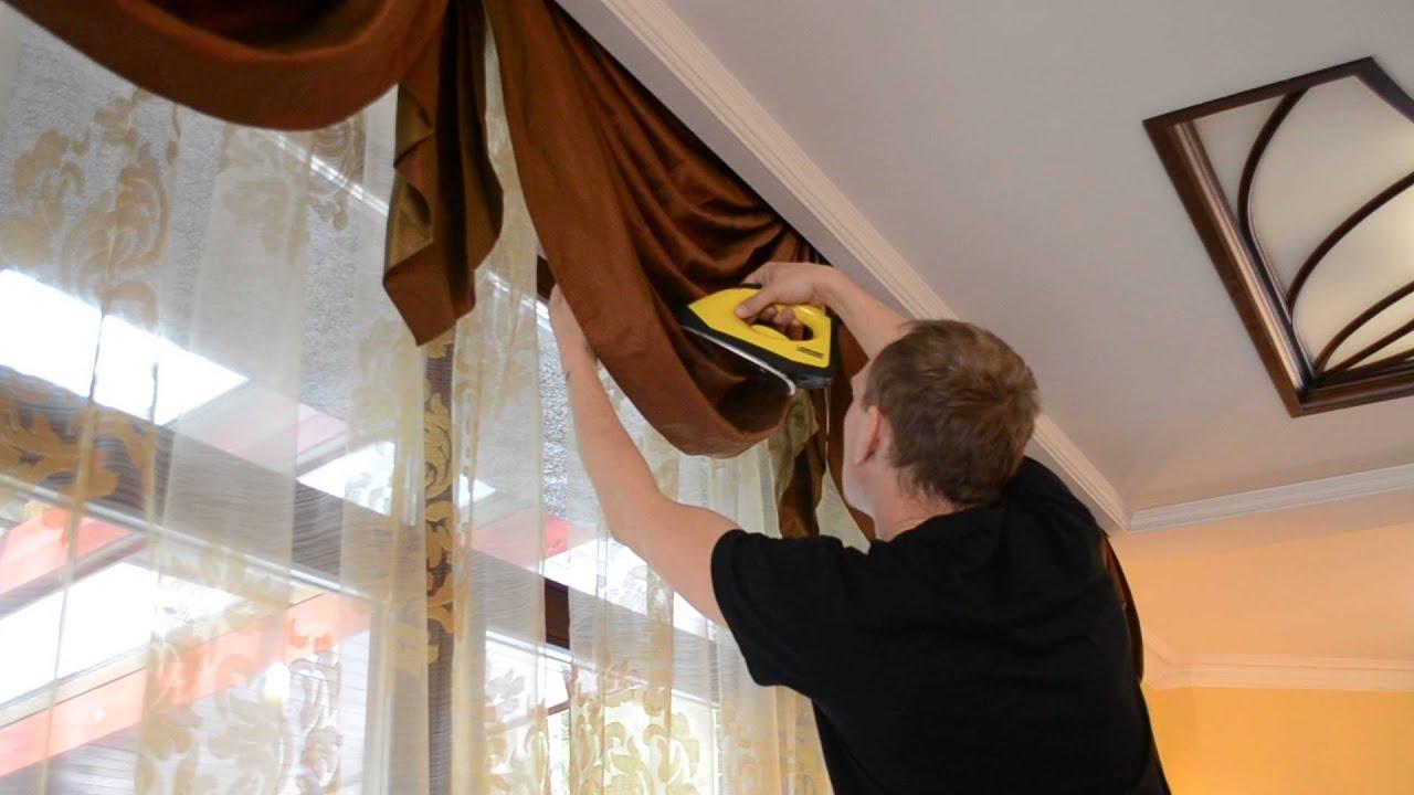 Как гладить шторы после стирки правильно_3