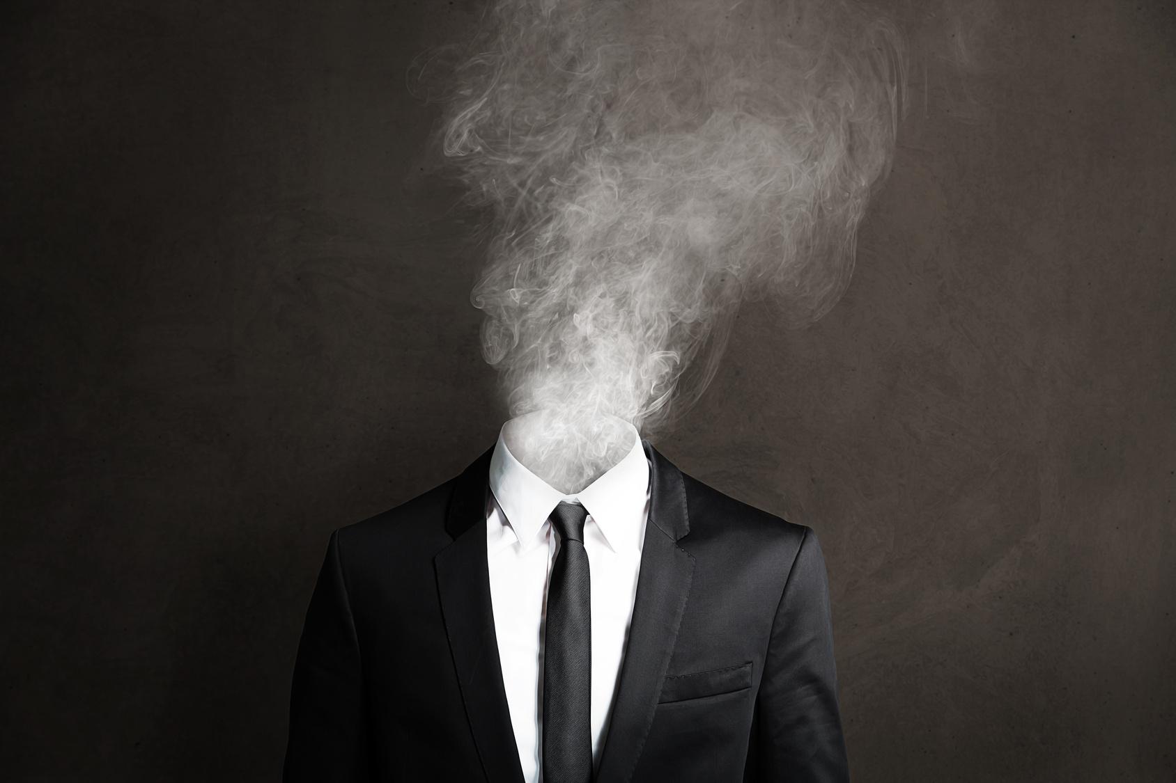 Как сделать портретное фото на фоне дыма