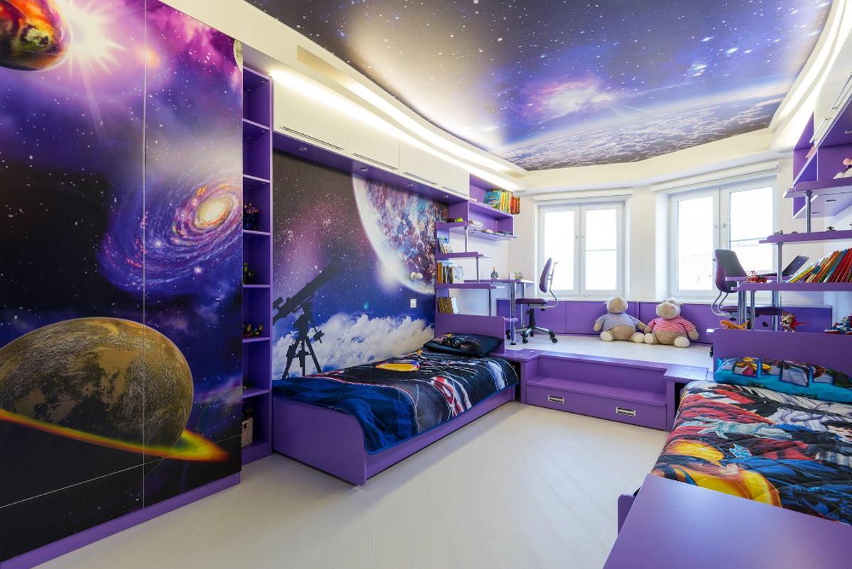 Интересные способы отделки детской комнаты_3
