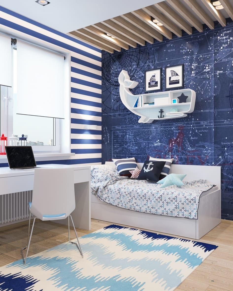 Интересные способы отделки детской комнаты_6