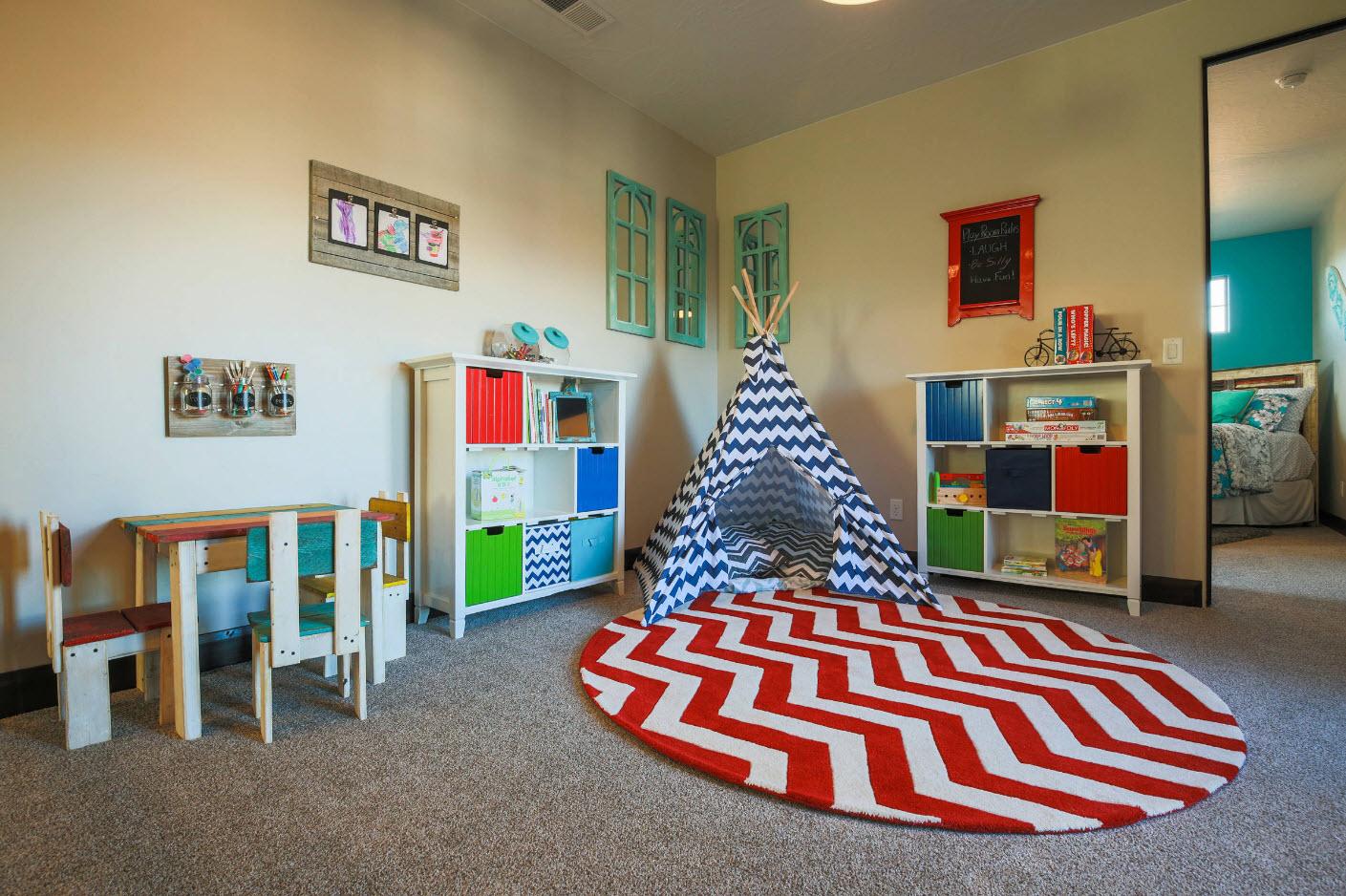 Интересные способы отделки детской комнаты_5