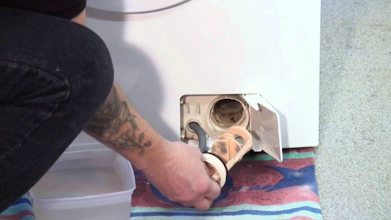 Как очистить от грязи фильтры стиральной машины_4
