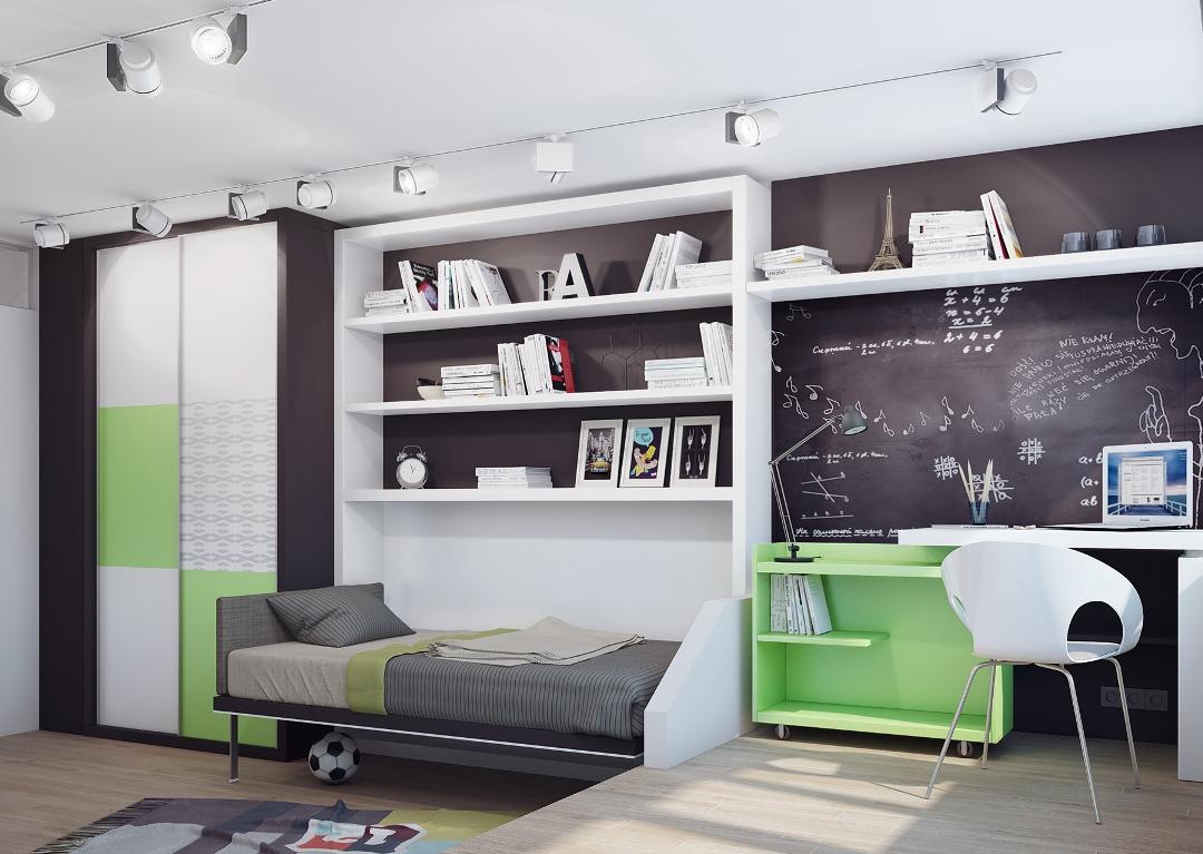 Советы по оформлению комнаты для школьника_3