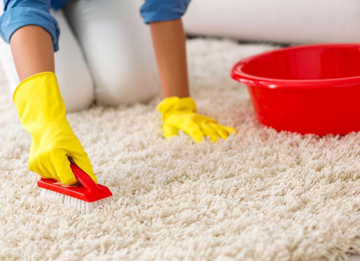 Очистка ковролина домашними средствами_3