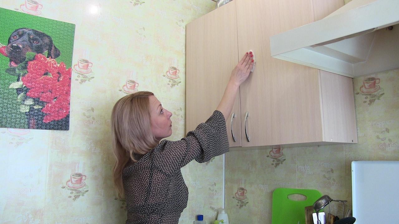 Советы как правильно чистить кухонные фасады_2