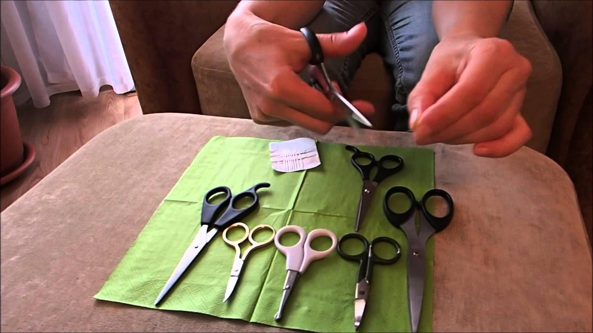 Как самостоятельно наточить ножницы_3