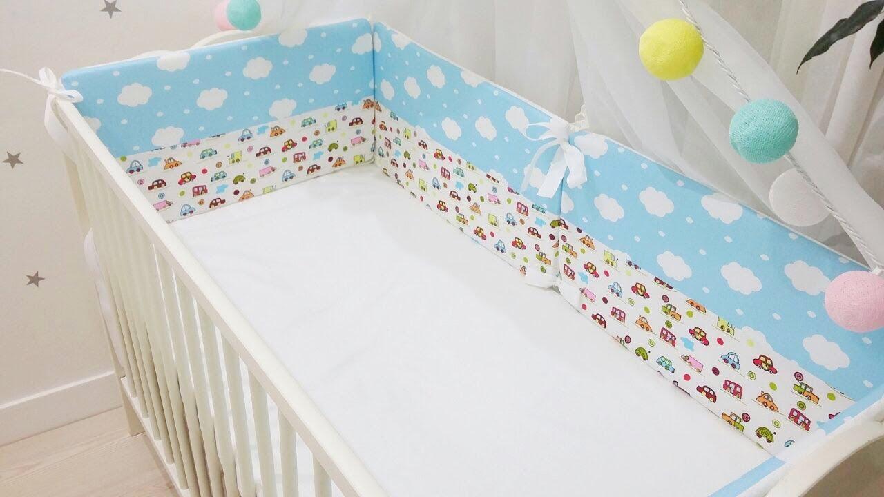 Как стирать бортики в детскую кроватку