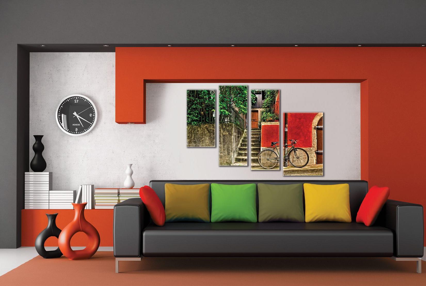 Постеры в интерьере модерн
