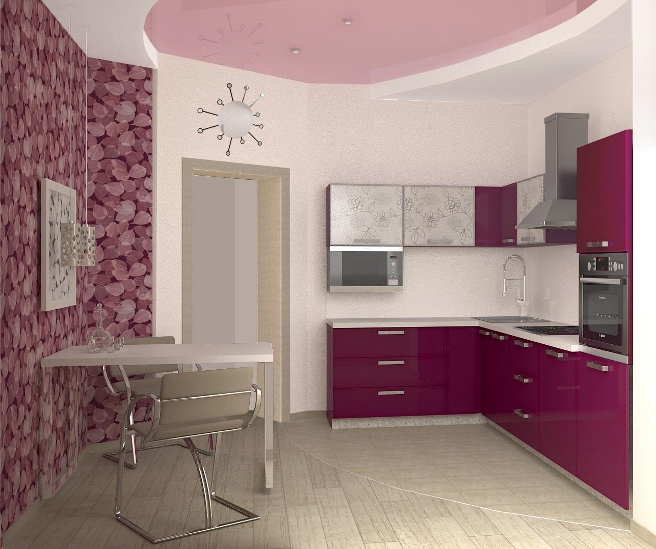 Как эффективно расставить мебель на кухне_4