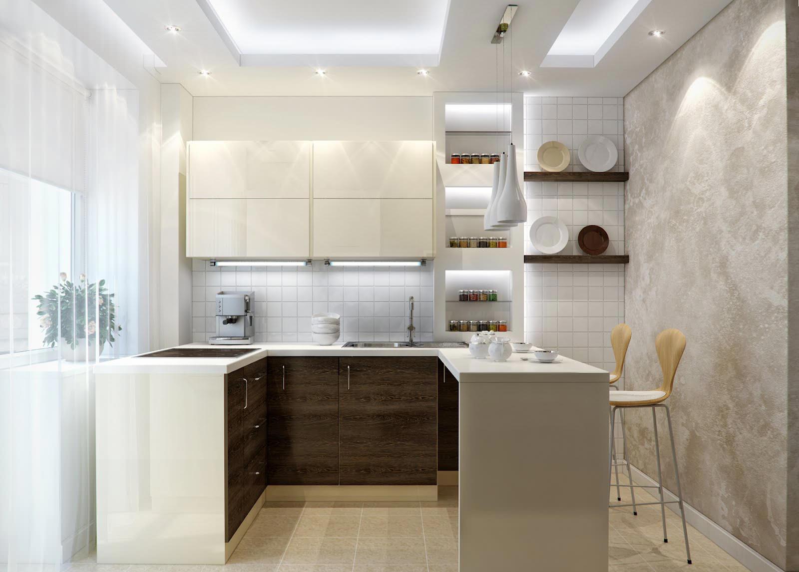 Как эффективно расставить мебель на кухне_5