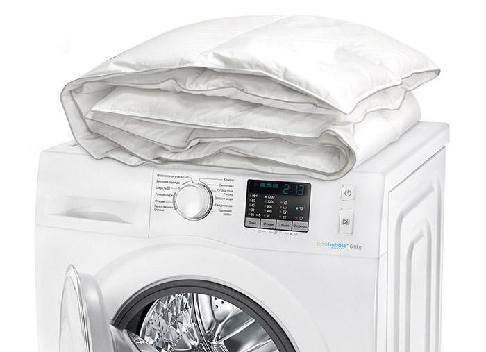 Как почистить пуховое одеяло в домашних условиях_5
