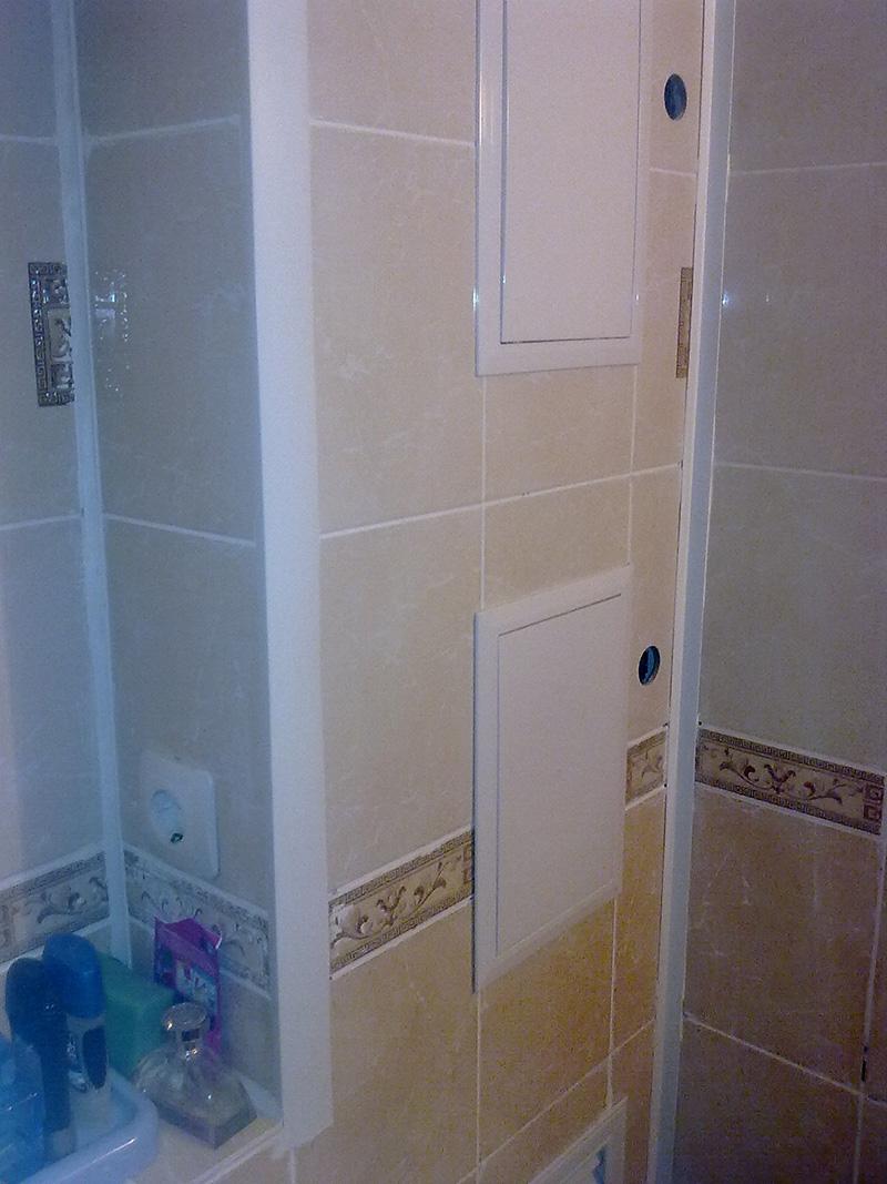 Лучшие способы спрятать трубы в ванной комнате_4
