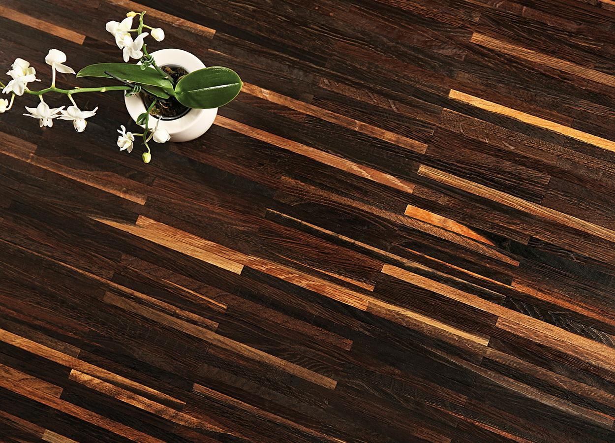 Как защитить деревянный пол на кухне_1