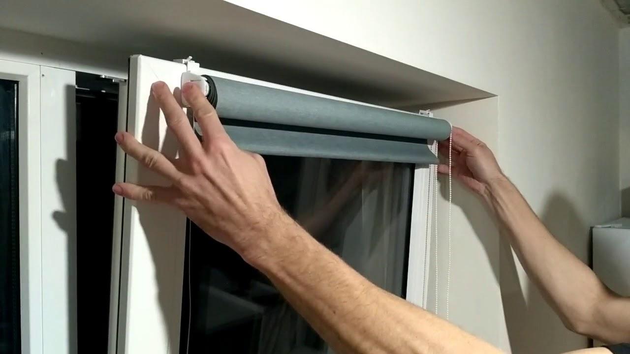 Как правильно чистить рулонные шторы_2