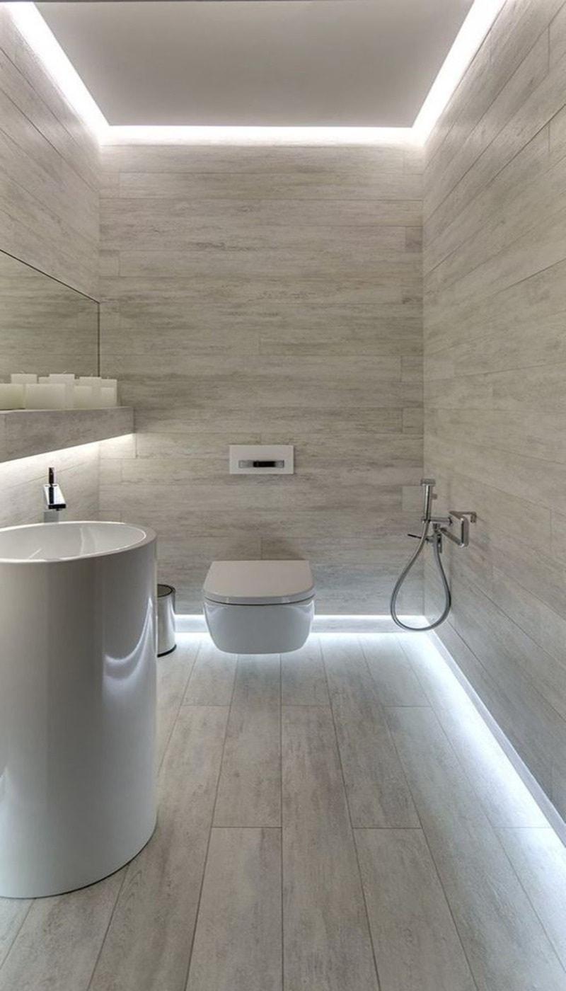 Светодиодное освещение в ванной комнате_1