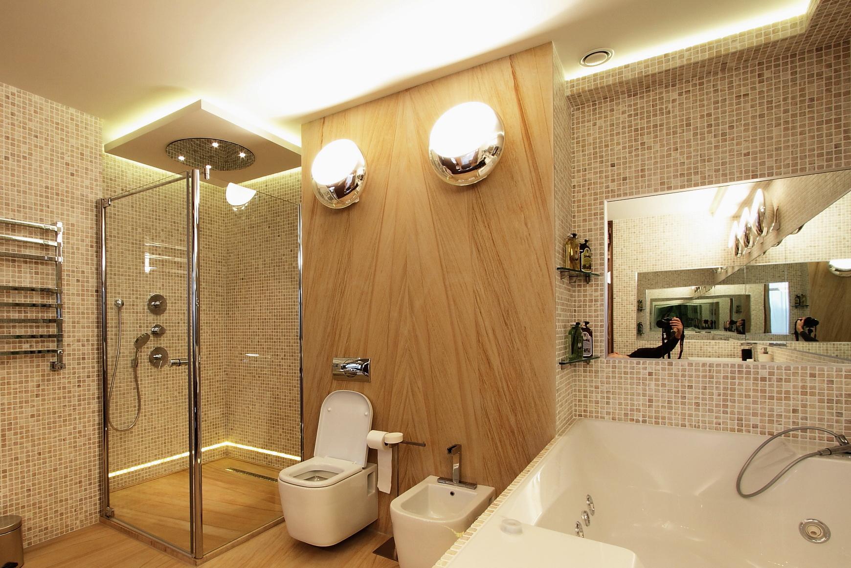 Светодиодное освещение в ванной комнате_5