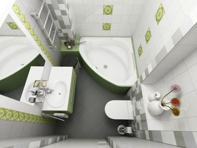 Особенности планировки небольшой ванной комнаты_1