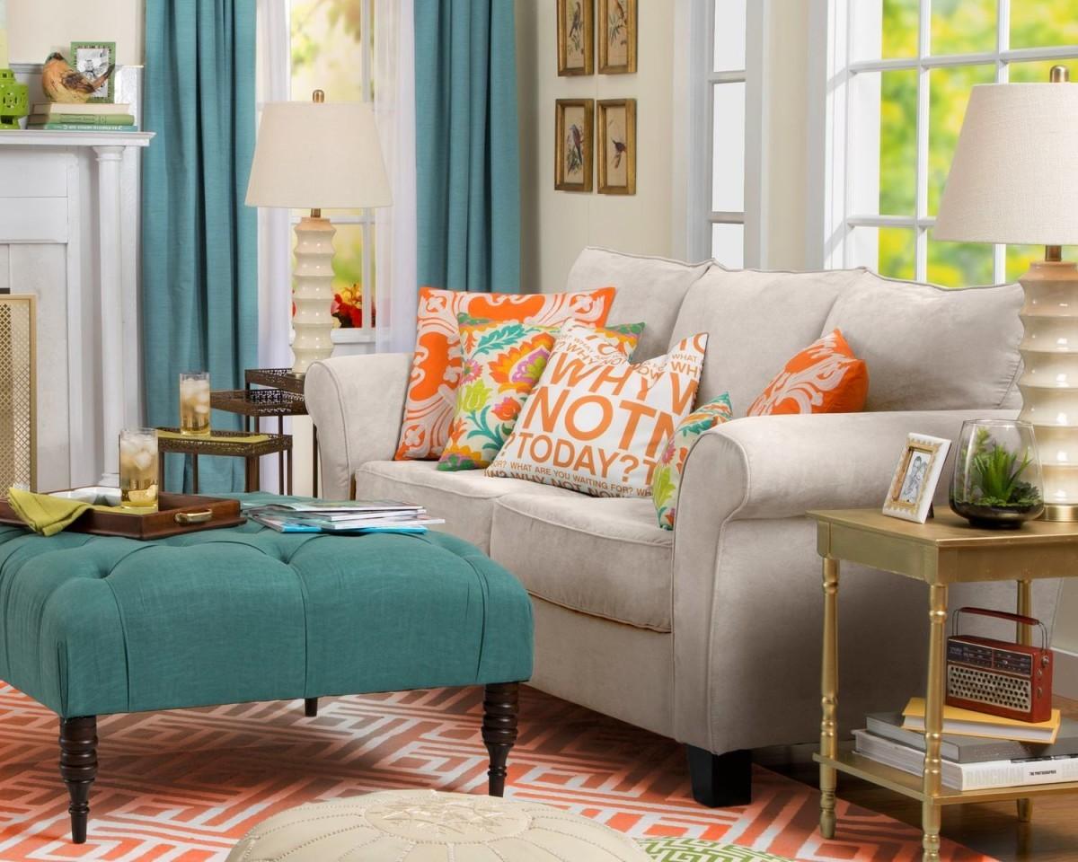Декоративные подушки в интерьере_1