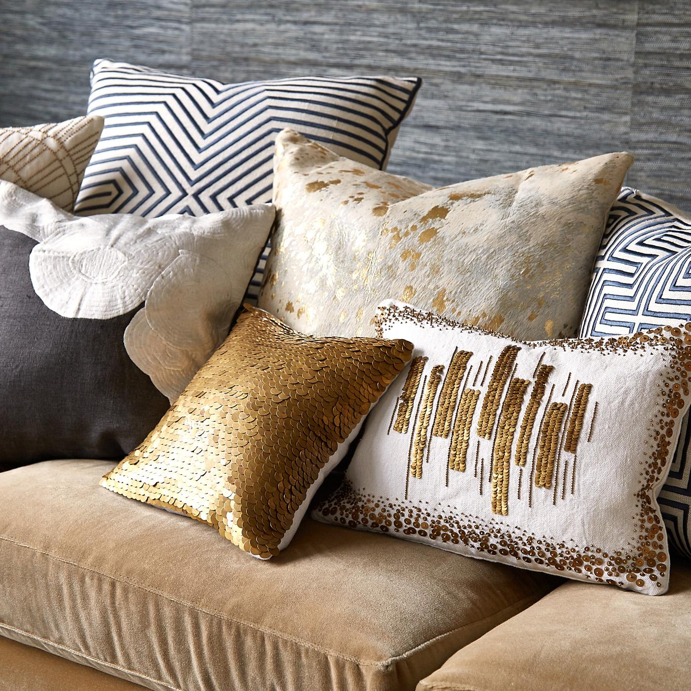 Декоративные подушки в интерьере_2
