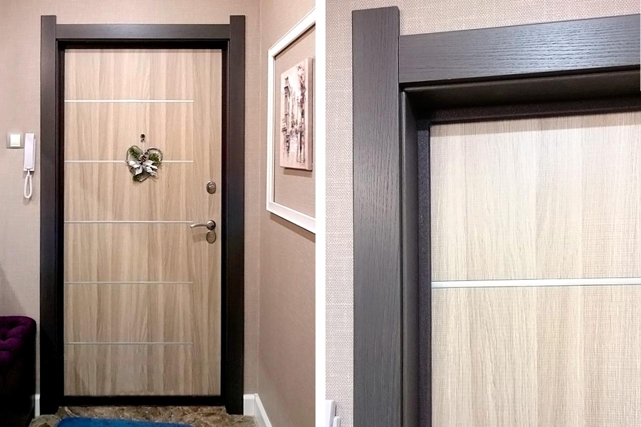 небольшого нюанса оформление входной двери внутри квартиры фото результате