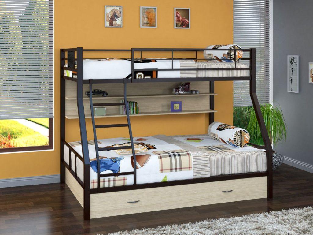Как выбирать современные двухъярусные кровати_1