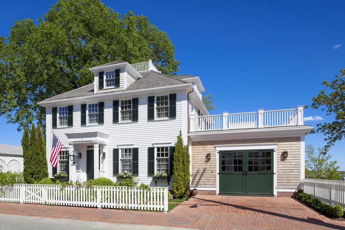 Patrick Ahearn Классический американский дом в штате Массачусетс