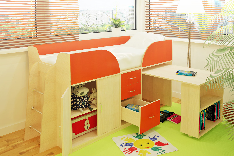 Главные критерии выбора двуярусной кровати в детскую