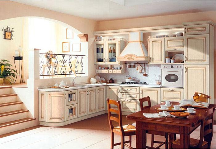 Кухонный гарнитур из натурального дерева_5