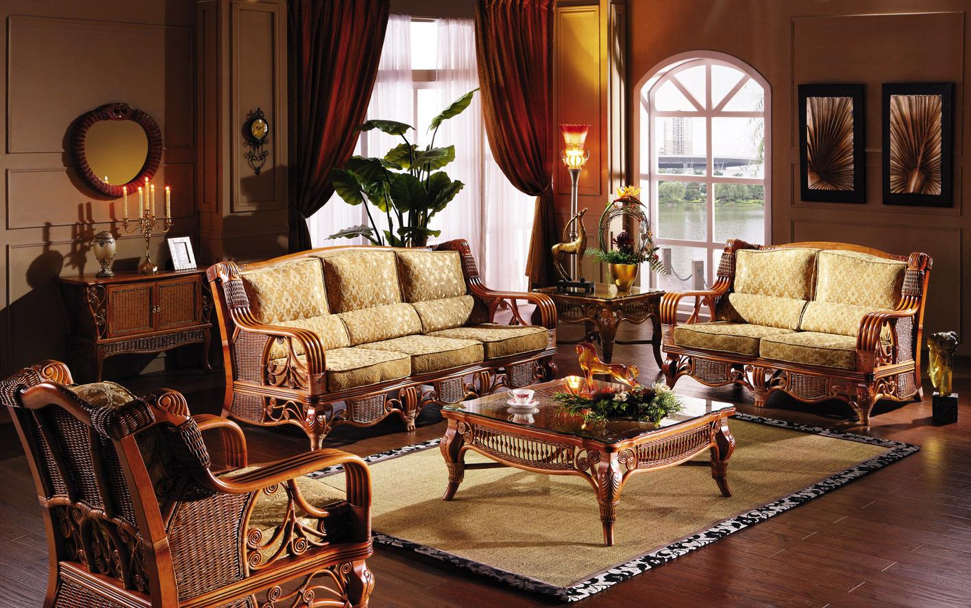 Как использовать в интерьере мебель из ротанга_3